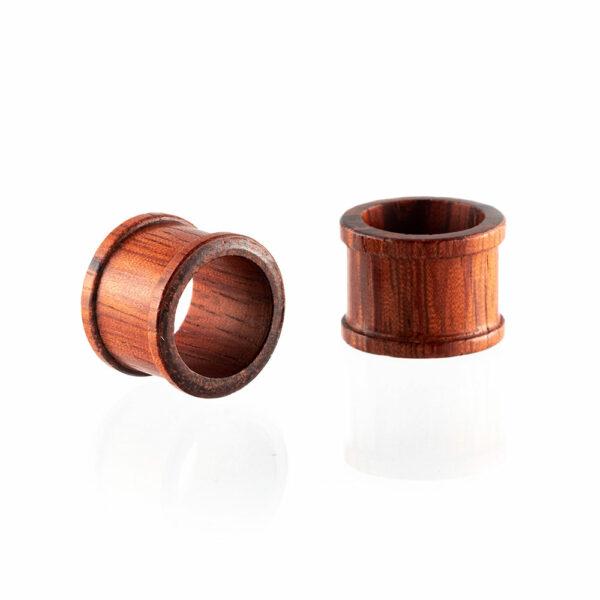 Dilatación madera sappan Tunnel para oreja en tienda Online Piercings y Dilataciones