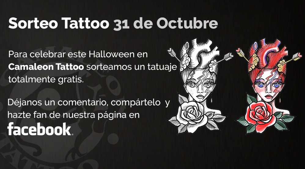 Sorteo Camaleon Tattoo Halloween 2017