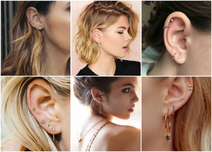 TENDENCIAS: Piercings de constelaciones