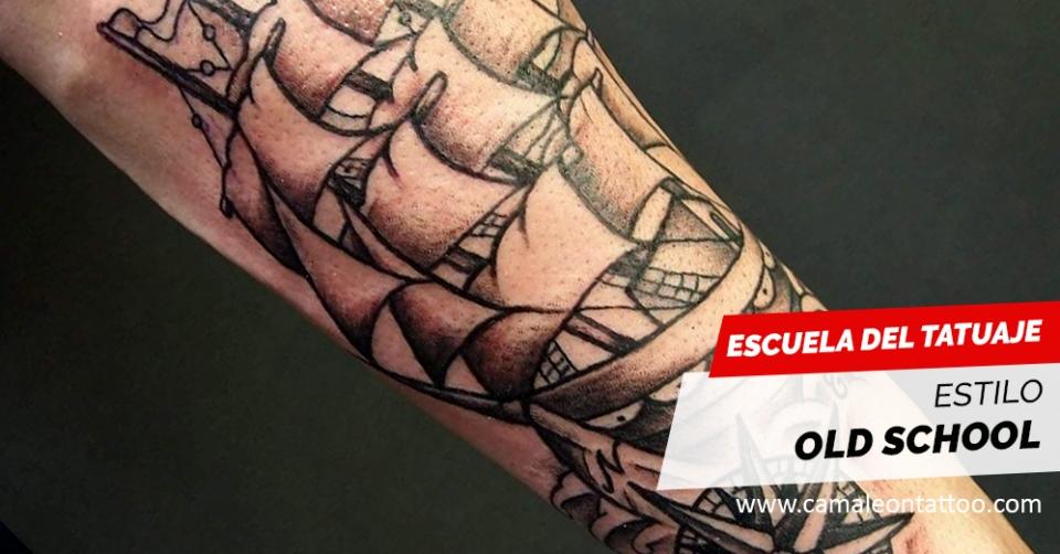 Tatuajes Vieja Escuela tatuajes old school / vieja escuela - camaleon tattoo