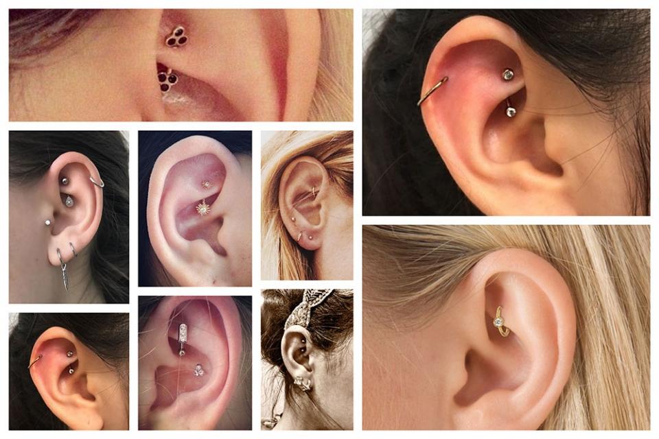747240af85ac Piercing en la oreja  Rook - Camaleon Tattoo