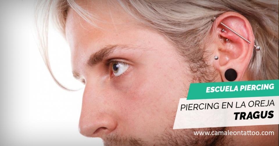 Piercing Oreja Tragus Tipos Cicatrización Y Cuidados