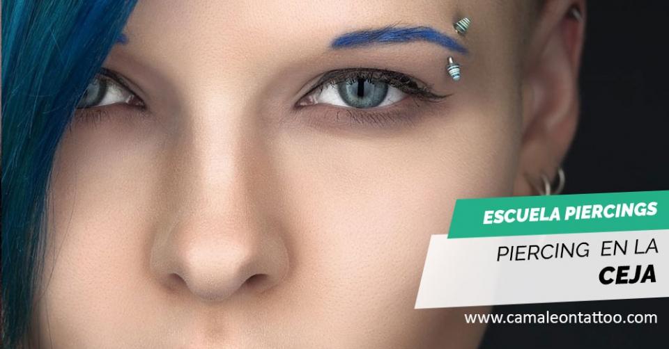 infección de la piel de la ceja