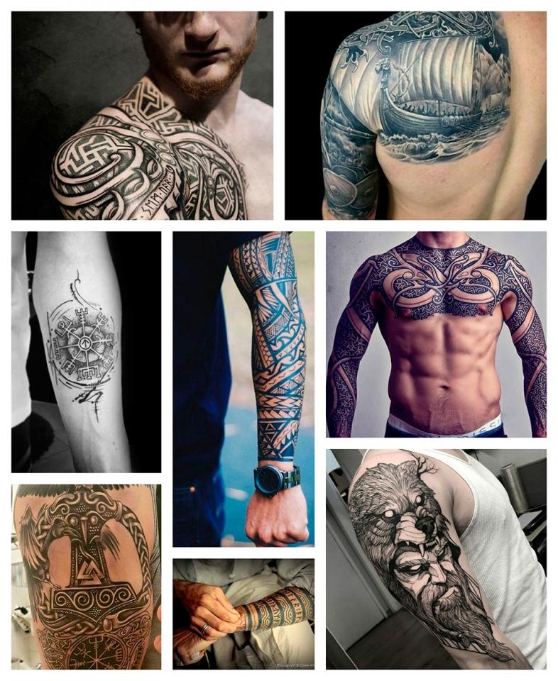 Significado De Los Tatuajes De Inspiracion Vikinga Camaleon Tattoo