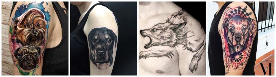 ᐈ Tatuajes De Perros Ideas Y Significado 2019 Camaleon Tattoo