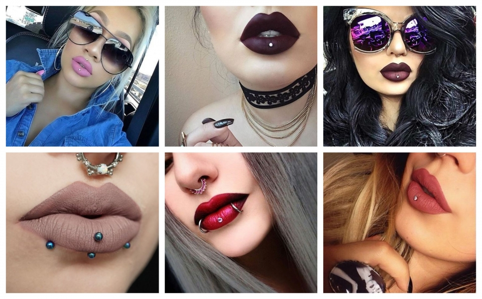Ejemplos de Piercing Ashley